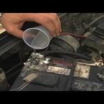 Car Maintenance : How to Clean a Car Battery