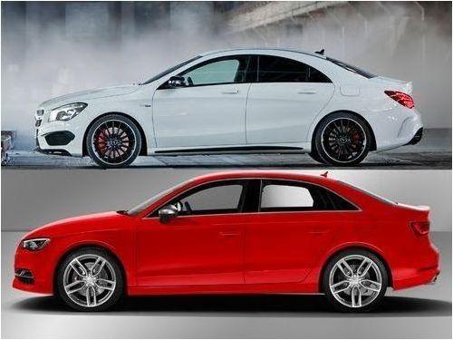 Mercedes-AMG A 45 versus Audi RS 3