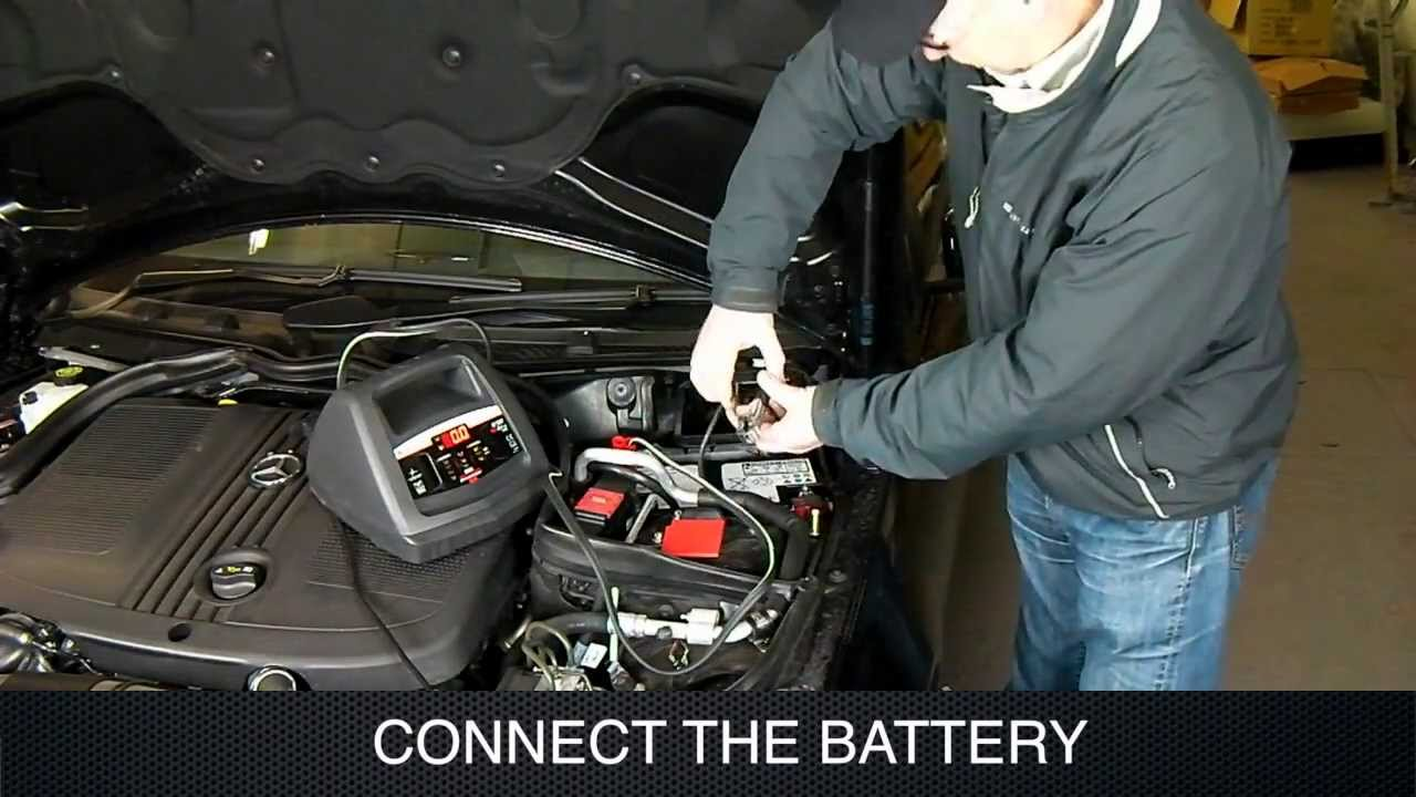 How To Use A Manual Car Battery Charger