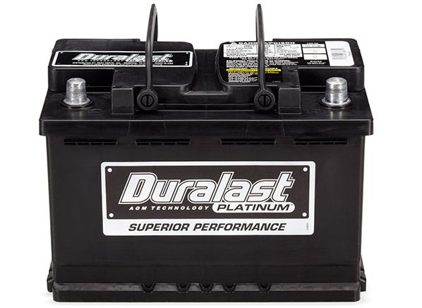 Car batteries Duralast: reviews, comments, review, specifications