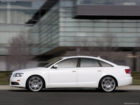 2008 Audi A6 Side View